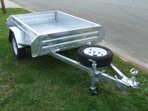 TRAILER 6X4 FULL WELDED